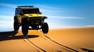 baja jeep pennzoil took a wrangler out in the desert and had its way with it