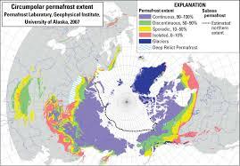 Northern Hemisphere Map Usgs Professional Paper 1386 U2013a Cryosphere Notet 6 Figure 1
