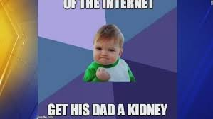 Success Kid Meme - success kid is out to get his dad a kidney cnn