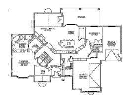 walkout basement home plans floor plans walkout basement builderhouseplans rambler plan