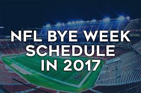 2017 nfl schedule release nfl bye weeks schedule 2017 dfs strategy
