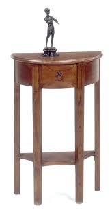 Small Accent Table Small Accent Table With Drawer Wedge End Table With Shelf Walnut