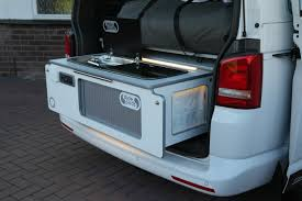 volkswagen caravelle trunk ultra pod in vw t5 california beach slidepods