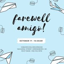 farewell party invitation farewell party invitation templates canva