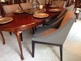 Queen Anne Dining Room Furniture by Queen Ann Cherry Table With Modern Chair