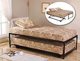 Daybed With Trundle And Mattress Included Size Steel Day Bed Daybed Frame With Pop Up
