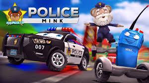 appmink making a police car police chief u0026 walkie talkie ride