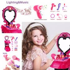 Little Girls Play Vanity Play Vanity Sets For Little Girls Pretend Dress Up Makeup Table