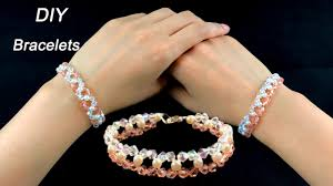 diy crystal bead bracelet images Easy diy crystal and pearls bracelets how to make beading jpg