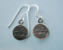 new orleans water meter jewelry e101 sterling silver new orleans water meter dangle earrings no