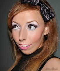 halloween makeup mac snow bunny holiday makeup tutorial glitter diaries