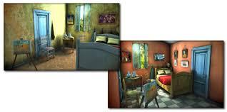 art spotlight van gogh room sketchfab blog image