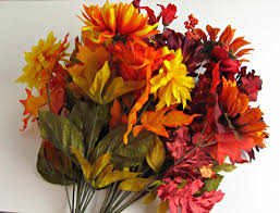 silk flowers fall cornucopia with silk flowers frugal upstate