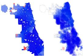 chicago voting map how chicago voted for president in 2016 chicago magazine