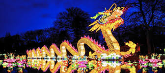 norfolk botanical gardens christmas lights 2017 lanternasia celebrates bigger than life among asian plant