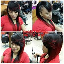which hair is better for sew in bob sleek ponytail hairstyle for black women google search weave