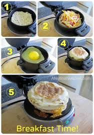 Breakfast Sandwich Maker Recipes
