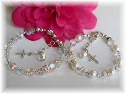 crystal pearl bracelet swarovski images Addictivejewelry baby baptism jewelry first communion jewelry jpg