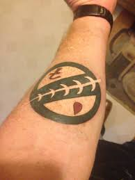 nice symbol mandalorian tattoo golfian com