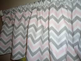Pink Chevron Curtains Best 25 Chevron Valance Ideas On Pinterest Kitchen Valances