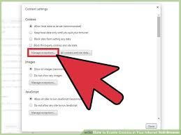 how to enable cookies on android phone 8 ways to enable cookies in your web browser wikihow