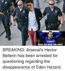 Hector Meme - samsung have you seen this man breaking arsenal s hector bellerin