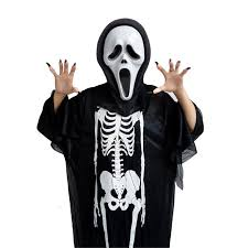 Kids Halloween Scary Costumes Cosplay Disfraces Men Women Kids Halloween Scary Costume