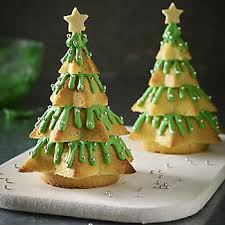 3d christmas tree cake mould