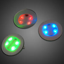 small flat led lights extreme glow light up frisbees and flat lights for night golf