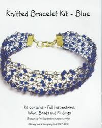 beading wire bracelet images Knitted wire bracelet kits archives glitterwitch jpg