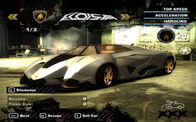 concept lamborghini egoista need for speed most wanted egoista concept nfscars