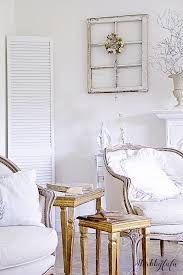 Winter Room Decorations - five easy ways to transition to winter decorating shabbyfufu