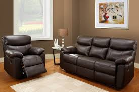 Sofa And Recliner Living Room Leather Sofa And Recliner Set With Regard To