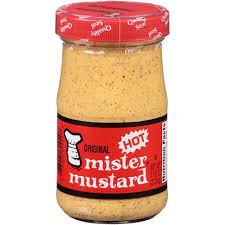 original mr mustard hot mustard 7 5 oz pack of 6 walmart