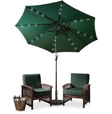 10 foot patio umbrella with solar lights home design ideas