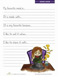 write on personal narrative 3rd grade writing prompt worksheets