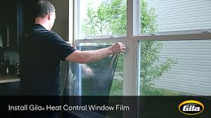 gila frosted window film install gila heat control window film static cling youtube