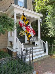 Porch Flag Other Creative Ideas For Decorating With Flags Banners And Bunting