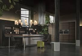 cuisine varenna cuisine en acier et bois avec péninsule by poliform