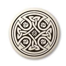 celtic cross touchstone pottery
