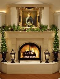 decoration best christmas fireplaceions ideas on pinterestion