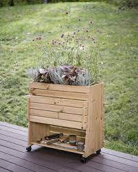 standing garden bed 2x8 elevated raised bed planter