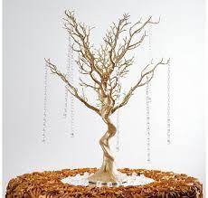 manzanita tree 30 manzanita tree with garlands for wedding centerpieces