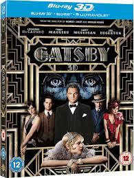 the great gatsby blu ray 3d blu ray 2013 region free amazon co