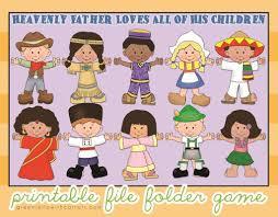 children around the world file folder file folder activities