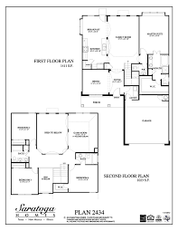 plan 2434 saratoga homes houston