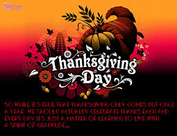 here we provide the best collections of thanksgiving sayings and