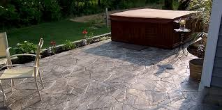 How Much Is A Stamped Concrete Patio by Concrete Patio Columbus Ohio Stamped Concrete Patios