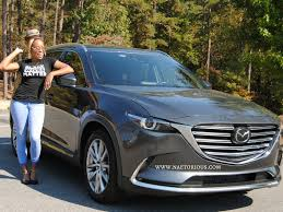 the mazda naetorious rides in the mazda cx 9 naetorious