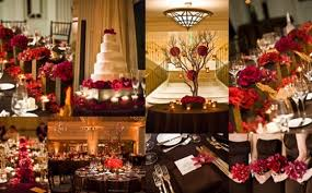 Red Wedding Decorations Red And Brown Wedding Decorations 6850